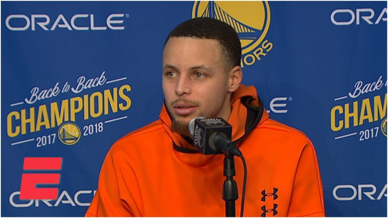 Steph Curry talks Warriors' rough start vs. Rockets, Draymond Green's injury | NBA Sound