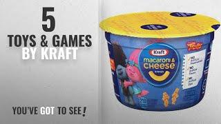 Top 10 Kraft Toys & Games [2018]: Kraft Macaroni and Cheese Easy Mac Cups, Trolls