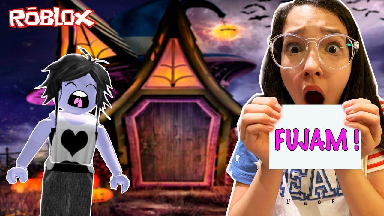 Roblox - A CASA ASSOMBRADA NO HALLOWEEN (Escape Halloween Obby) | Luluca Games
