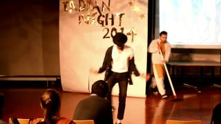 Michael Jackson,Billie jean-Punjabi Remix,University of Stuttgart,Indian Night 2014.