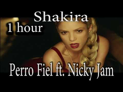 Shakira - Perro Fiel  ft. Nicky Jam (1 hour) one hour