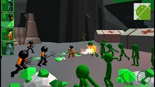 Stickman Legacy of Zombie War - Android Gameplay HD