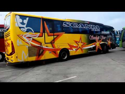 Dentingan Mesin Scania K360ib Sempati Star 7757