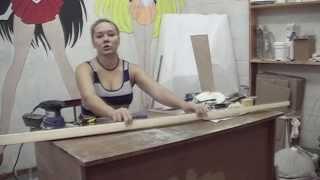 Катя-Омлет выпуск 3, изготовление рекламной стойки(, 2013-10-29T04:57:03.000Z)