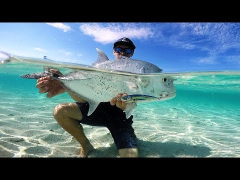 Tropical Sand Cay Flats Fishing | Stranded Part 1