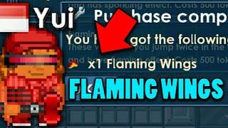 BUYING FLAMING WINGS 500 TOKEN!! - Breaworlds