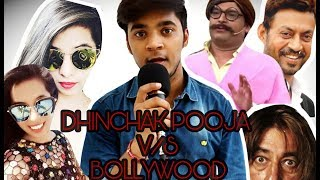 DINCHAK POOJA IN BIG BOSS | DINCHAK POOJA VS BOLLYWOOD ACTORS | SRK | AMITABH | KAPIL| HRITIK