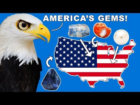 AMERICA's Top State Gemstones!