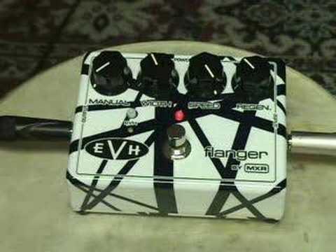 b70fa450715 FPE-TV Demos Guitar Effect MXR Van Halen Flanger - YouTube