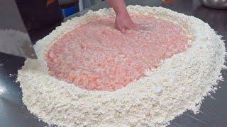 Chinese Traditional Wedding Cake Making  傳統喜餅製作 - Taiwanese food