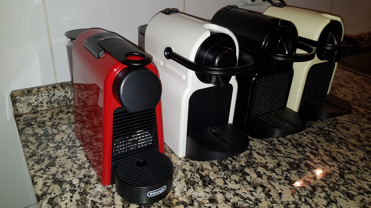 Essenza Mini Is Less Noisy Than Inissia Comparative Test Between Nespresso Delonghi Coffee Machines