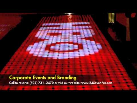 Las Vegas LED Interactive Dance Floor