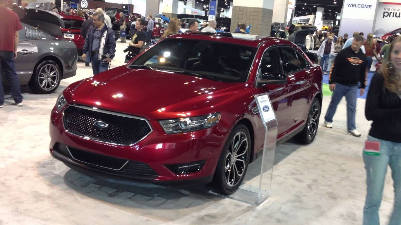 Ford Taurus Sho Red