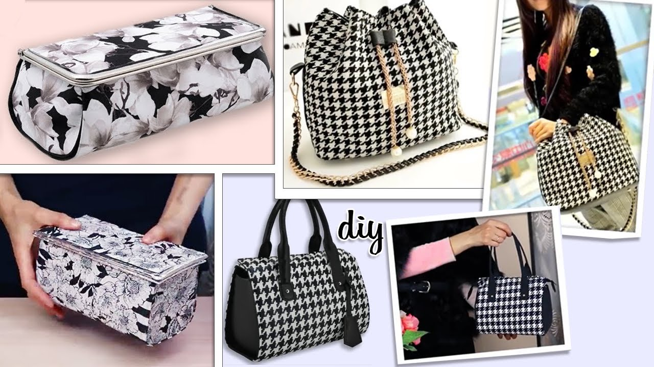 3 DIY PERFECT BAG IDEAS FOR DAILY USING ~ How to Sew a Bag From Scratch