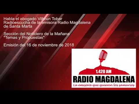 Así le fue a Radioescucha en Radio Magdalena de Santa Marta