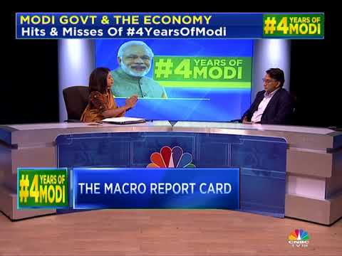 4 Years Of Modi Govt: The Macro Report Card (Part 1)   Modi Govt & the Economy