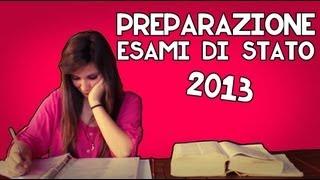 PREPARAZIONE ESAMI DI STATO 2013
