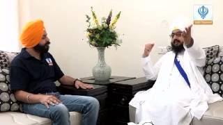 220516 Sikh Channel Exclusive: Interview with Baba Ranjit Singh Khalsa Dhadrianwale