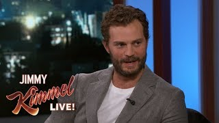 Jamie Dornan on Danger of Being a Journalist