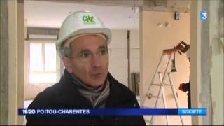 Collectif Franc-Parler - Chantier Ehpad Confolens FR3 POITOU-CHARENTES