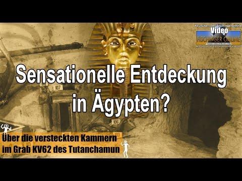 Sensationeller Fund in Ägypten? Geheime Räume in Tutanchamun Grab (Plus: Alien-Leichen gefunden?)