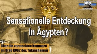 Sensationeller Fund in Ägypten? Geheime Räume in Tutanchamun Grab Plus: Alien-Leichen gefunden?