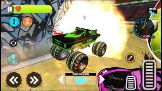 Light Monster Truck Derby Games Crash Stunt Games - 4x4 Truck Crash Android Gameplay