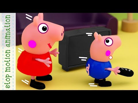 Peppa Pig English Episodes | Peppa's School Project - Peppa