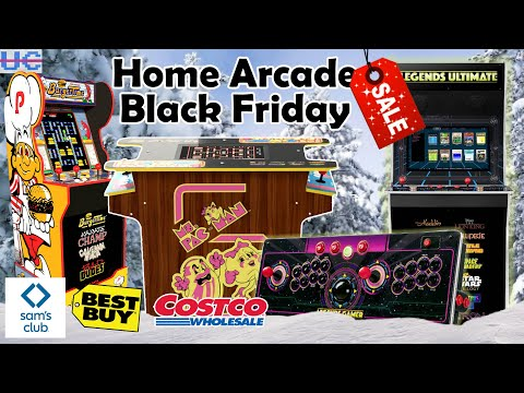 Black Friday 2020 Deals: Home Arcades AtGames and Arcade1up Sales from Unqualified Critics