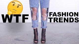 WEIRD AF Fashion Trends LOOKBOOK | HIT OR MISS?!
