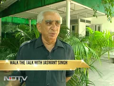 """""""Walk The Talk with Jaswant Singh"""""""