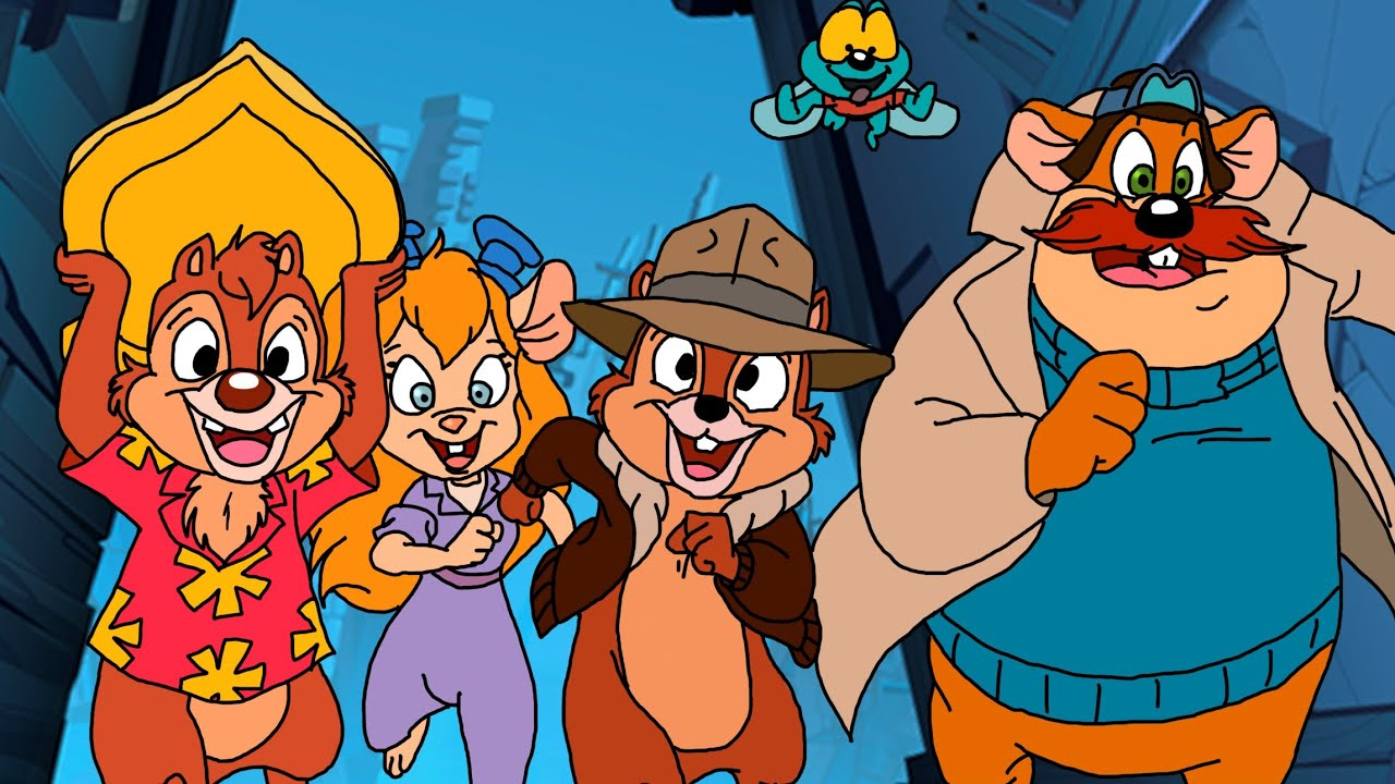Chip 'n Dale Rescue Rangers (Remastered) ᴴᴰ