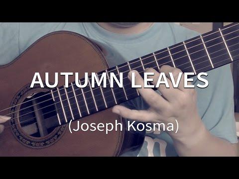 Autumn Leaves - Joseph Kosma (solo guitar cover)