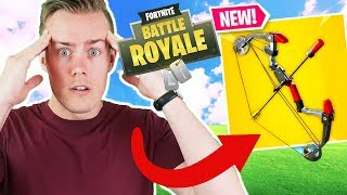 [FORTNITE AWESOME WEAPON] Is The Fortnite BOOM BOW TOO OP???