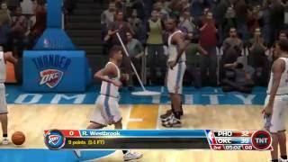 NBA 09 The Inside Phoenix Suns vs Oklahoma City Thunder