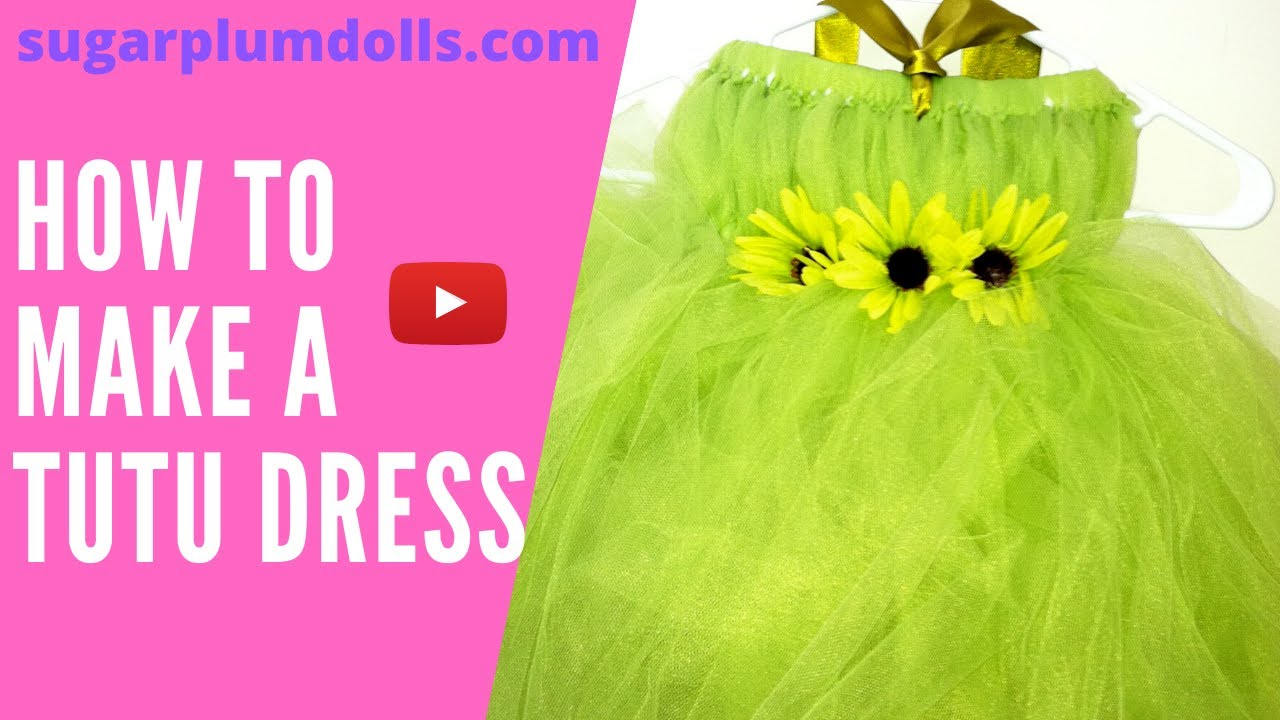 Part 5 of 5 Learn How to make a tutu dress - YouTube