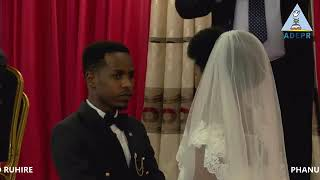 WEDDING CEREMONY  PHANUEL and DOLICE  on  07 08 2021
