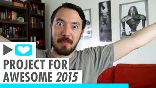 Get Books, Give to Charity (Project for Awesome 2015 #P4A)
