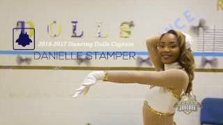 Danielle Stamper Southern University Fabulous Dancing Dolls Captain 2016-2017