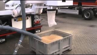 Dickinson Group Industrial Vacuum Services MegaVac Cyclone Loader   Vacuuming Fine Product