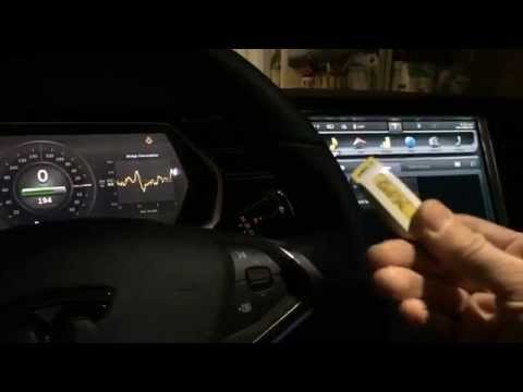 Tesla Model S can play FLAC lossless audio files off a USB drive