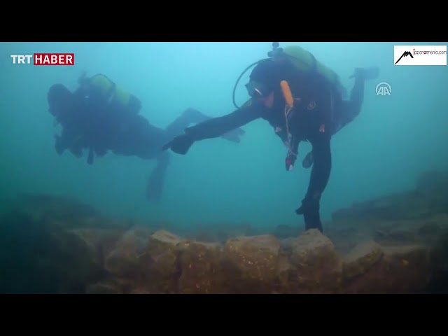 Ruins of a 3000 year old Armenian castle found in Lake Van – Turkey