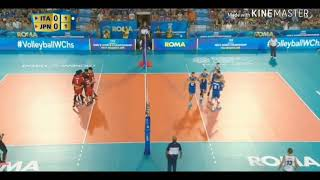 Featured Japan Men's Volleyball Team/ VWC Japan vs Italy