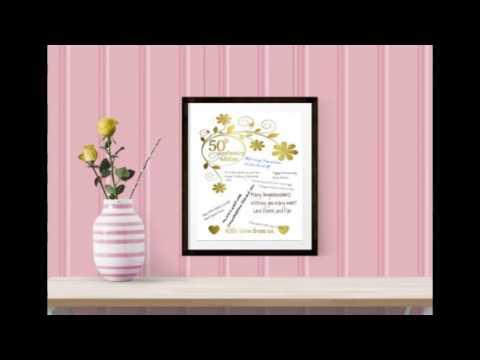 50th wedding anniversary gift ideas   AMAZING50th wedding anniversary gift ideas   AMAZING   YouTube. Gift Ideas For 50th Wedding Anniversary. Home Design Ideas