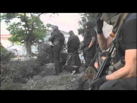 Ucrânia - Batalha de Mariupol 13-06-2014