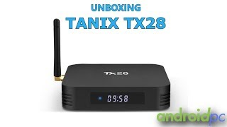 Unboxing: Tanix TX28 una Android TV-Box con SoC RK3328 Quad