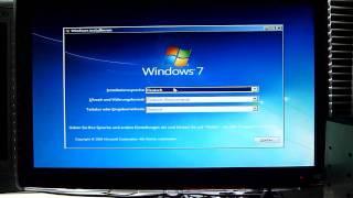 Windows 7-Installation mit erheblichen Problemen - Etwas verzwickt