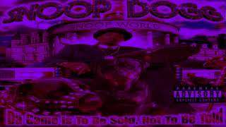 Snoop Dogg - Dont Let Go (Chopped & Screwed)