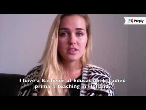 Experienced teacher primary schools from Holland/UK