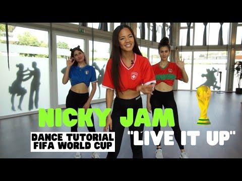 Dance with Zazou : Live it Up - Nicky Jam (2018 FIFA World Cup Russia) Dance Tutorial